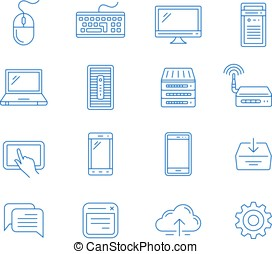 Network computing and mobile devices