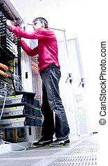 Network Engineer - Engineer at Work