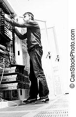 Network Engineer - Engineer Fixing Hardware