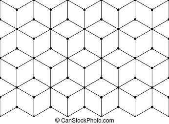 Network grid pattern