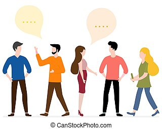 network., groep, mensen, sociaal, praatje, communicate.