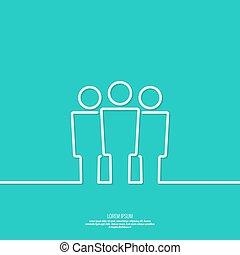 network., groupe, utilisateur