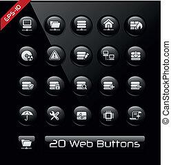Network & Hosting Icons