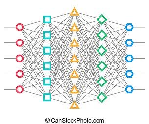 network., net., ニューロン, 神経