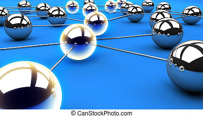 Illuminated network path