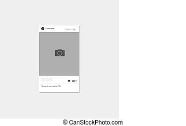 Network photo frame