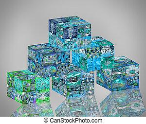 network pyramid