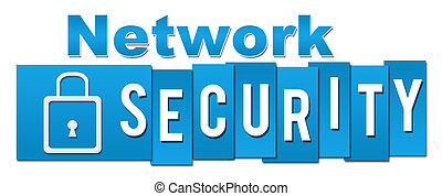 Network Security Professional Blue - Network security text...