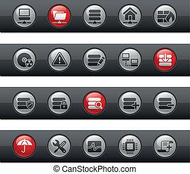 Network, Server & Hostin/ Buttonbar