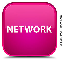 Network special pink square button