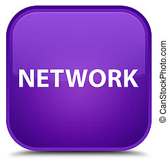 Network special purple square button