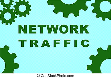 NETWORK TRAFFIC concept