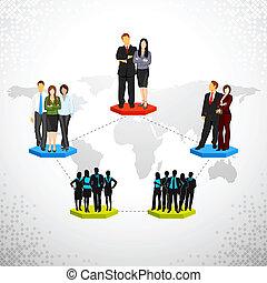 networking , επιχείρηση