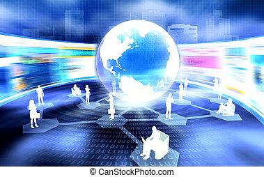 networking, geschaeftswelt, sozial