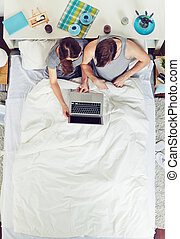 Networking in bed