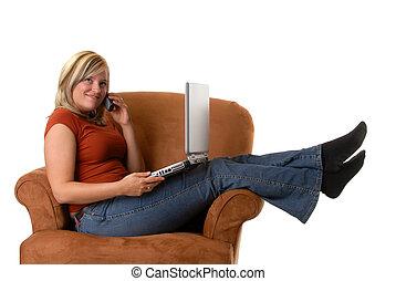 networking, kényelmes