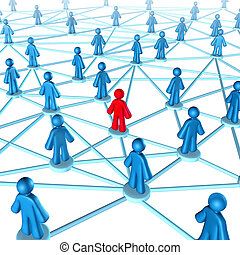 Networking success strategies on the internet with people...