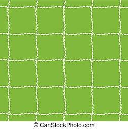 netz, fußball, (soccer, net), ziel