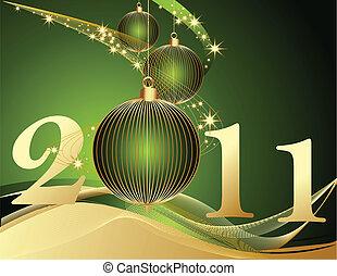 neu , glücklich, 2011, jahr