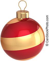 neu , kugel, jahr, flitter, weihnachten