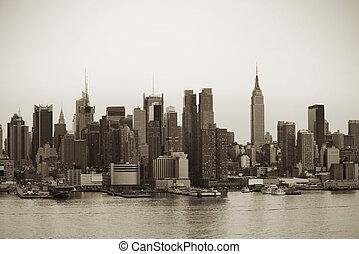 neu , stadt, manhattan, york