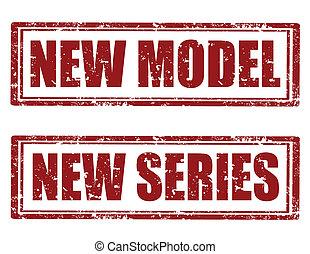 neu , -stamps, model-new, reihe