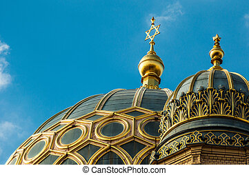 neu , synagoge