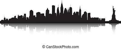 neu , vektor, york