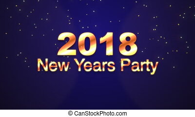neue jahre, 2018, party