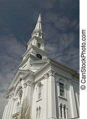 neuengland, kirche