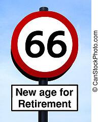 neues alter, pensionierung, 66