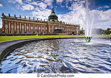 Neues Palais - Potsdam, Germany at Neues Palais.