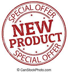 neues produkt, briefmarke