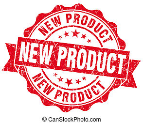 neues produkt, grunge, briefmarke