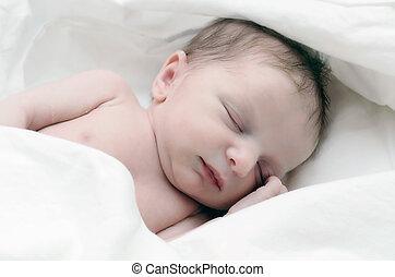 neugeborenes, säugling