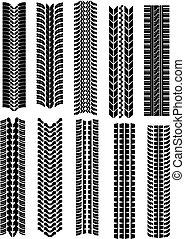 neumático, formas