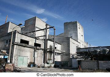 neurč. člen, dávný, průmyslový building
