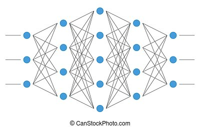neural, net., network., neurone