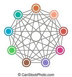 Neural net. Neuron network. Data engineering. Deep learning....