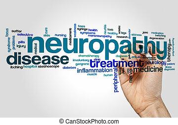 Neuropathy word cloud