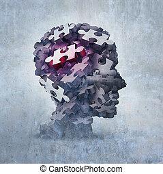 Neurosis mental disorder concept as an obsessive behavior...