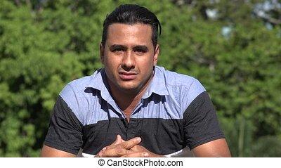 Neurotic Adult Hispanic Man