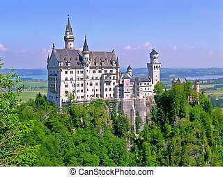 Neuschwanstein castle - Neuschwanstein Castle is a...