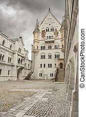 Neuschwanstein Castle - southwest Bavaria, Germany.