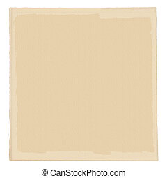 Neutral cream-colored paper base