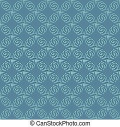 Neutral Seamless Celtic Knotwork Pattern. - Neutral Seamless...