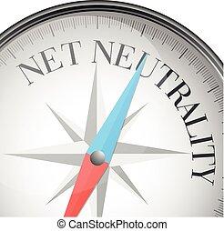 neutralidad, red, compás