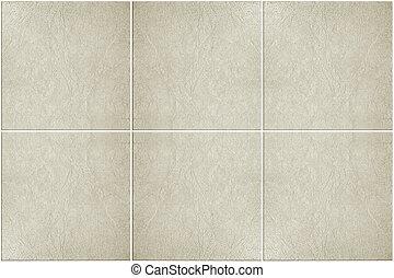 neutro, azulejos, chão