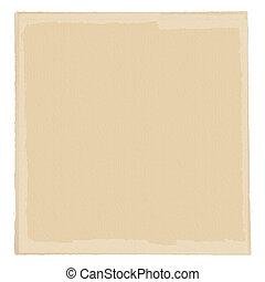 neutro, papel, nata-colorido, base