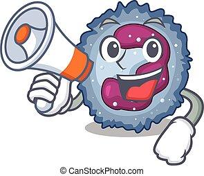 neutrophil, ikon, ha, megafon, cell